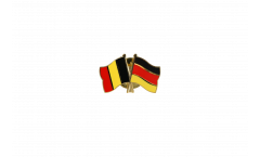 Belgium - Germany Friendship Flag Pin, Badge - 22 mm