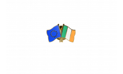 Europe - Ireland Friendship Flag Pin, Badge - 22 mm