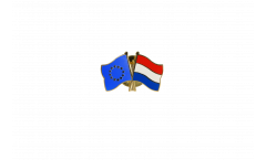 Europe - Netherlands Friendship Flag Pin, Badge - 22 mm