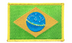 Brazil Patch, Badge - 3.15 x 2.35 inch