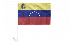 Venezuela 7 stars with coat of arms 1930-2006 Car Flag - 12 x 16 inch