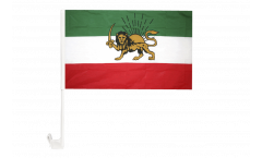 Iran Shahzeit Car Flag - 12 x 16 inch