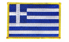 Greece Patch, Badge - 3.15 x 2.35 inch