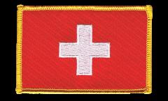 Switzerland Patch, Badge - 3.15 x 2.35 inch