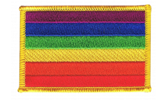 Rainbow Patch, Badge - 3.15 x 2.35 inch