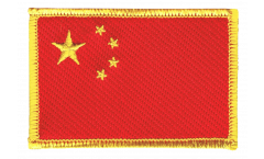 China Patch, Badge - 3.15 x 2.35 inch