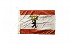 Germany Berlin with crown Boat Flag - 12 x 16 inch