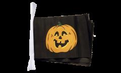 Pumpkin Bunting Flags - 5.9 x 8.65 inch