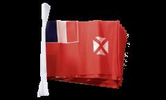 Wallis and Futuna Bunting Flags - 5.9 x 8.65 inch