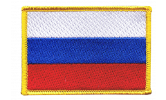 Russia Patch, Badge - 3.15 x 2.35 inch