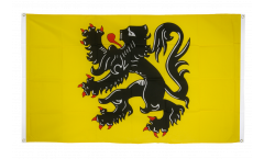 Belgium Flanders Flag for balcony - 3 x 5 ft.