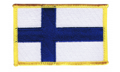 Finland Patch, Badge - 3.15 x 2.35 inch