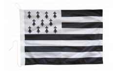 France Brittany Boat Flag - 12 x 16 inch