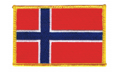 Norway Patch, Badge - 3.15 x 2.35 inch