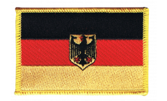 Germany with eagle Patch, Badge - 3.15 x 2.35 inch