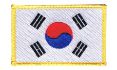 South Korea Patch, Badge - 3.15 x 2.35 inch