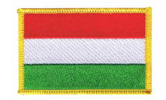 Hungary Patch, Badge - 3.15 x 2.35 inch