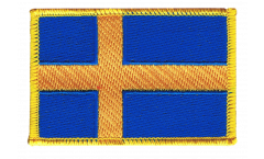 Sweden Patch, Badge - 3.15 x 2.35 inch