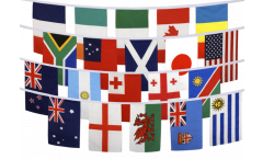 Rugby World Cup 2015 Bunting Flags - 5.9 x 8.65 inch