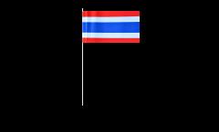 Thailand paper flags -  4.7 x 7 inch / 12 x 24 cm