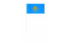 Kazakhstan paper flags -  4.7 x 7 inch / 12 x 24 cm