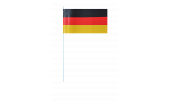 Germany paper flags -  4.7 x 7 inch / 12 x 24 cm