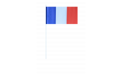 France paper flags -  4.7 x 7 inch / 12 x 24 cm