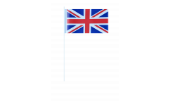 Great Britain paper flags -  4.7 x 7 inch / 12 x 24 cm