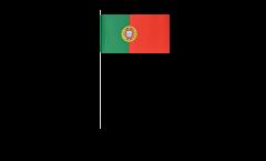 Portugal paper flags -  4.7 x 7 inch / 12 x 24 cm