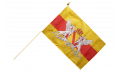 Germany Grand Duchy of Baden Hand Waving Flag - 12 x 18 inch