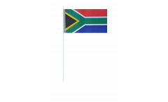 South Africa paper flags -  4.7 x 7 inch / 12 x 24 cm