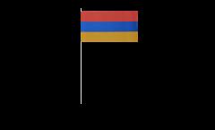 Armenia paper flags -  4.7 x 7 inch / 12 x 24 cm