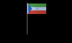 Equatorial Guinea paper flags -  4.7 x 7 inch / 12 x 24 cm
