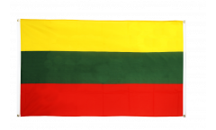 Lithuania Flag for balcony - 3 x 5 ft.