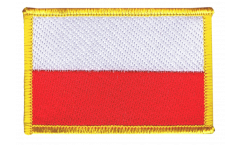 Poland Patch, Badge - 3.15 x 2.35 inch