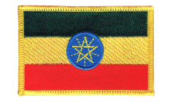 Ethiopia Patch, Badge - 3.15 x 2.35 inch