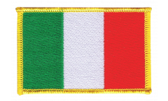 Italy Patch, Badge - 3.15 x 2.35 inch