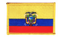 Ecuador Patch, Badge - 3.15 x 2.35 inch
