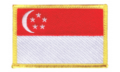 Singapore Patch, Badge - 3.15 x 2.35 inch
