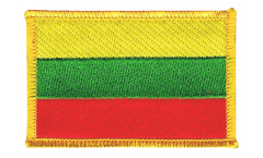 Lithuania Patch, Badge - 3.15 x 2.35 inch