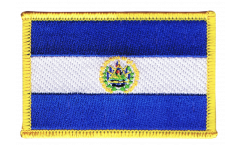 El Salvador Patch, Badge - 3.15 x 2.35 inch
