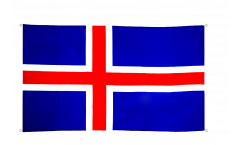 Iceland Flag for balcony - 3 x 5 ft.