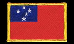 Samoa Patch, Badge - 3.15 x 2.35 inch