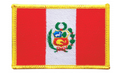 Peru Patch, Badge - 3.15 x 2.35 inch