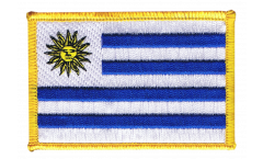 Uruguay Patch, Badge - 3.15 x 2.35 inch