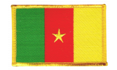 Cameroon Patch, Badge - 3.15 x 2.35 inch