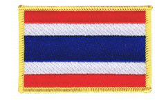 Thailand Patch, Badge - 3.15 x 2.35 inch