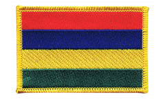 Mauritius Patch, Badge - 3.15 x 2.35 inch