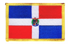 Dominican Republic Patch, Badge - 3.15 x 2.35 inch