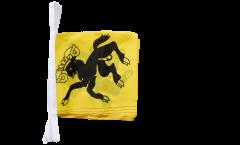 Switzerland Canton Schaffhausen Bunting Flags - 12 x 12 inch